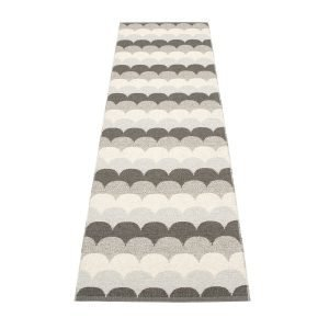 Pappelina Koi Matto Stone Metallic 70x270 Cm