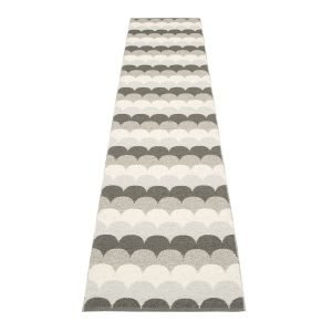 Pappelina Koi Matto Stone Metallic 70x350 Cm