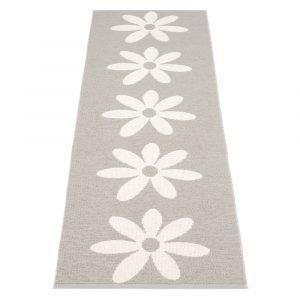 Pappelina Lilo Ovimatto Warm Grey / Vanilla 70x50 Cm