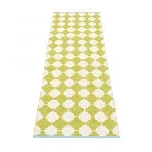 Pappelina Marre Matto Lime / Vanilla / Turquoise 70x300 Cm