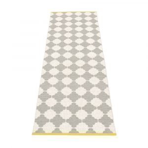 Pappelina Marre Matto Warm Grey / Vanilla / Mustard 70x150 Cm