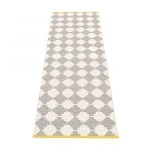Pappelina Marre Matto Warm Grey / Vanilla / Mustard 70x300 Cm