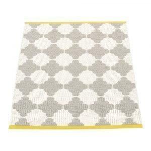 Pappelina Marre Matto Warm Grey / Vanilla / Mustard 70x90 Cm