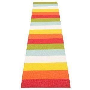 Pappelina Molly Matto Rainbow 70x300 Cm