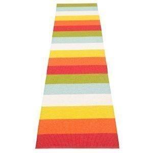 Pappelina Molly Matto Rainbow 70x400 Cm