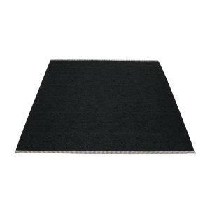 Pappelina Mono Matto Black 180x220 Cm