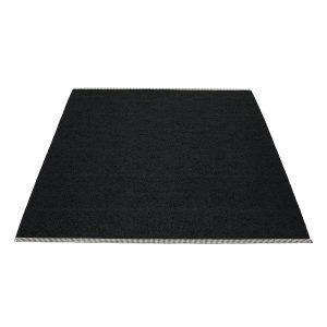 Pappelina Mono Matto Black 180x300 Cm