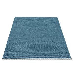 Pappelina Mono Matto Blue / Dove Blue 140x200 Cm
