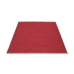 Pappelina Mono Matto Blush / Dark Red 140x200 Cm