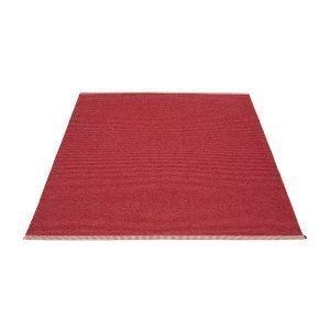 Pappelina Mono Matto Blush / Dark Red 180x220 Cm