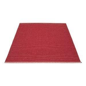 Pappelina Mono Matto Blush / Dark Red 180x300 Cm