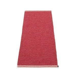 Pappelina Mono Matto Blush / Dark Red 60x150 Cm