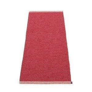 Pappelina Mono Matto Blush / Dark Red 60x250 Cm
