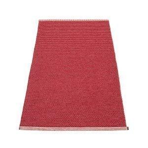Pappelina Mono Matto Blush / Dark Red 85x160 Cm