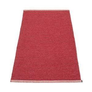Pappelina Mono Matto Blush / Dark Red 85x260 Cm