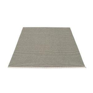 Pappelina Mono Matto Charcoal / Warm Grey 140x200 Cm