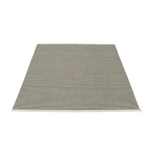 Pappelina Mono Matto Charcoal / Warm Grey 180x220 Cm