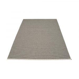 Pappelina Mono Matto Charcoal / Warm Grey 180x300 Cm