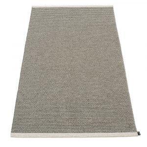 Pappelina Mono Matto Charcoal / Warm Grey 85x160 Cm