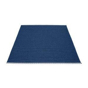 Pappelina Mono Matto Dark Blue / Denim 140x200 Cm