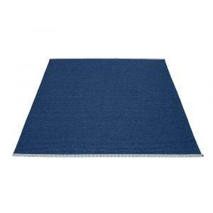 Pappelina Mono Matto Dark Blue / Denim 180x220 Cm