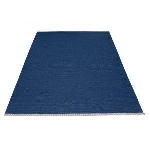 Pappelina Mono Matto Dark Blue / Denim 180x300 Cm