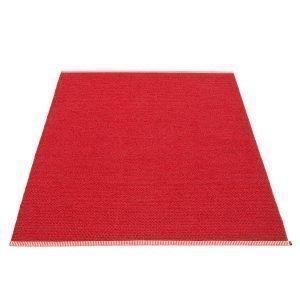 Pappelina Mono Matto Dark Red / Red 140x200 Cm