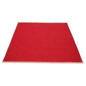 Pappelina Mono Matto Dark Red / Red 180x220 Cm