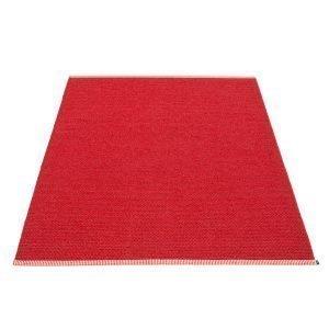 Pappelina Mono Matto Dark Red / Red 180x300 Cm