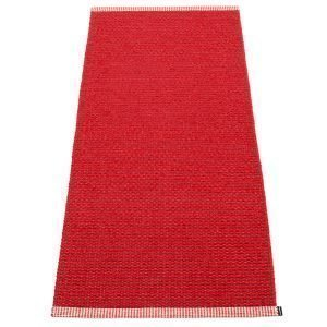 Pappelina Mono Matto Dark Red / Red 60x150 Cm