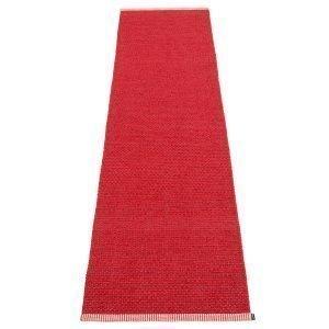 Pappelina Mono Matto Dark Red / Red 60x250 Cm