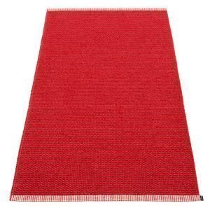 Pappelina Mono Matto Dark Red / Red 85x160 Cm