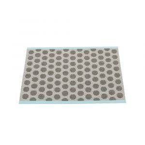 Pappelina Noa Ovimatto Charcoal / Warm Grey 70x50 Cm