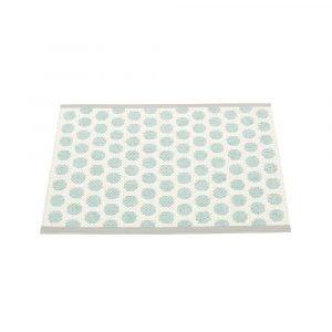 Pappelina Noa Ovimatto Pale Turquoise / Vanilla 70x50 Cm