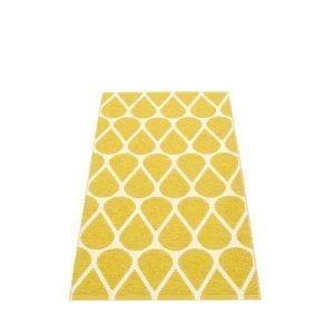 Pappelina Otis Muovimatto Mustard Vanilla 70x140 Cm
