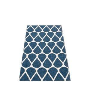 Pappelina Otis Muovimatto Ocean Blue Vanilla 70x140 Cm
