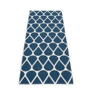 Pappelina Otis Muovimatto Ocean Blue Vanilla 70x200 Cm