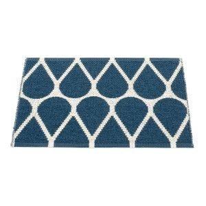 Pappelina Otis Ovimatto Blue / Vanilla 70x50 Cm