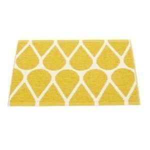Pappelina Otis Ovimatto Mustard / Vanilla 70x50 Cm
