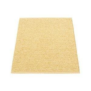 Pappelina Svea Matto Gold Metallic / Pale Yellow 70x90 Cm