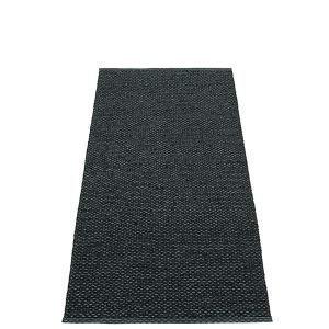Pappelina Svea Muovimatto Black Metallic 70x160 Cm