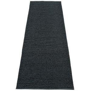 Pappelina Svea Muovimatto Black Metallic 70x240 Cm