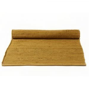 Rug Solid Cotton Matto Burnish Amber 65x135 Cm