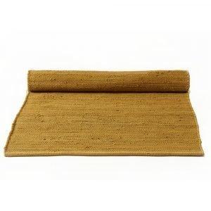 Rug Solid Cotton Matto Burnish Amber 75x300 Cm