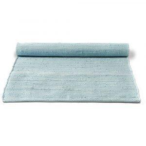Rug Solid Cotton Matto Daydream Blue 75x300 Cm