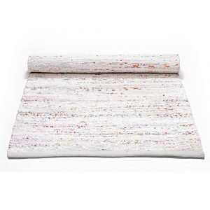 Rug Solid Cotton Matto Light Pastel Mix 65x135 Cm