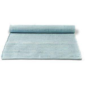 Rug Solid Cotton Matto Reuna Daydream Blue 65x135 Cm