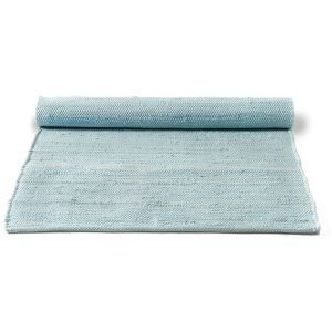 Rug Solid Cotton Matto Reuna Daydream Blue 75x300 Cm