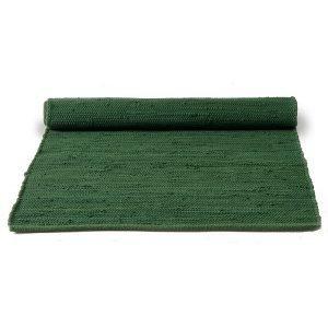 Rug Solid Cotton Matto Reuna Guilty Green 65x135 Cm