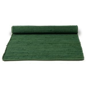 Rug Solid Cotton Matto Reuna Guilty Green 75x300 Cm